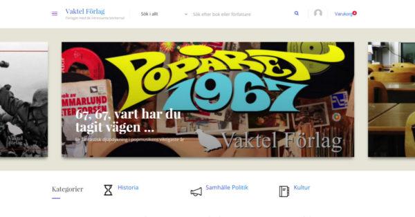 Vaktel Förlags nya hemsida lanseras