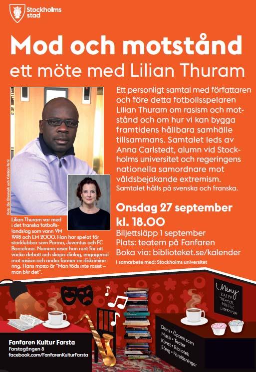 Möt Lilian Thuram i Stockholm!