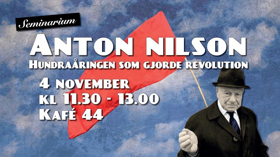 4 november i Stockholm: Seminarium om Hundraåringen som gjorde revolution